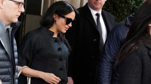 Meghan Markle in New York for baby shower: report