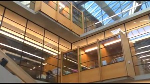 Trent University's Bata Library reopens
