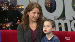 Stollery Children's Hospital: Young heart transplant patient Mason