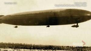 Armistice anniversary:  Taking down a zeppelin