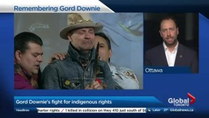 Gord Downie's fight for Indigenous rights
