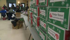 'Christmas because other people shared': Halifax non-profit hands out 1,100 Christmas hampers