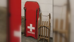 Skeleton sled stolen from Calgary athlete