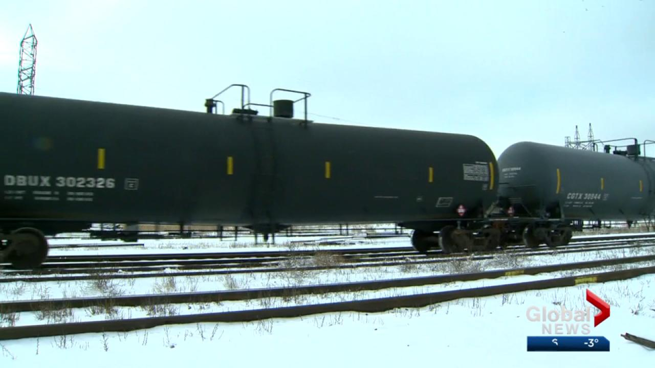 Crude-by-rail exports set new record in December, NEB says