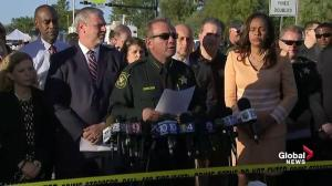 Florida police provides updated timeline of high school shooting