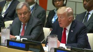 Trump calls on all UN member states to shoulder their 'fair share'