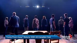 All-Canadian 'Come From Away' opens in Toronto