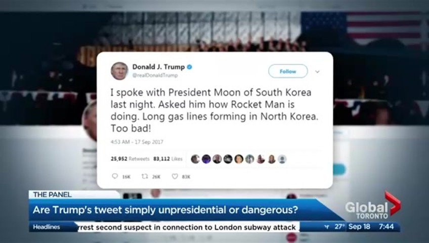 Trump Says He'll Impose Yet More Sanctions On North Korea
