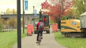 Cyclists concerned about Lachine Canal construction