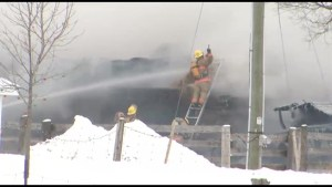 LILAC ROAD BARN FIRE