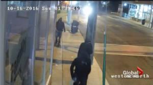 Police release surveillance video in pizza shop murder