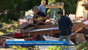 Massive cleanup operation in Ottawa after two tornadoes
