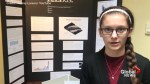 Teen develops bulletproof wall to protect students during school shootings
