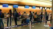 Play video: WestJet checked bag fees