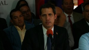 Guaido pushes back after Venezuelan security forces block opposition lawmakers from entering parliament