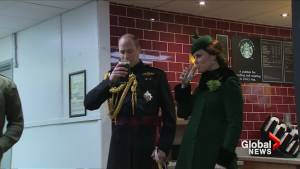 The Duke and Duchess of Cambridge attend a St Patrick's Day Parade