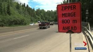Could zipper merge technique help reduce traffic congestion in Edmonton?