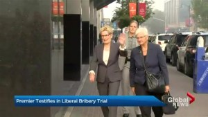 Ontario Premier Kathleen Wynne testifies at Sudbury byelection scandal trial