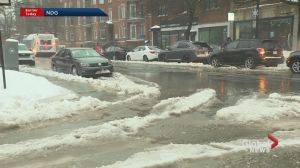 Winter weather wreaks havoc on Montreal streets
