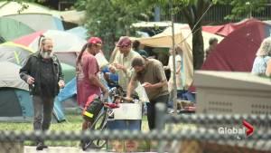 Calls to resist 'quick fix' for Oppenheimer Park tent city