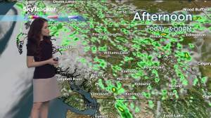 The B.C. weather forecast for Thursday, May 23, 2019
