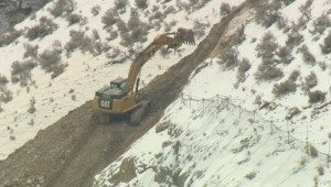 The Transportation Ministry is targeting end of next week to fully re-open Highway 97 near Summerland after a rockslide came down at the beginning of February