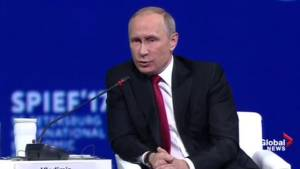 Putin avoids criticizing Trump climate decision