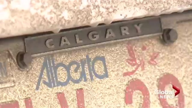 how to get a license plate in calgary