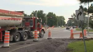 DDO construction snarls morning commute