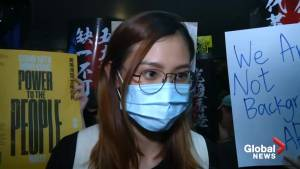 Protesters speak out against 'Mulan' actress after she voices support for Hong Kong police