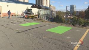 Halifax designated smoking area briefly replaces 2 accessible parking spots (01:41)