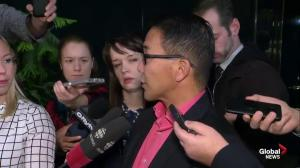 Calgary Councillor Chu doesn't believe new Olympic funding numbers