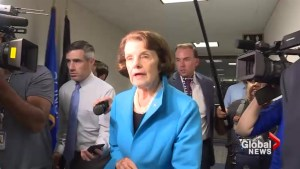 Senator Feinstein says woman who accused SCOTUS nominee Brett Kavanaugh is 'credible'