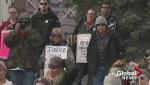 Hundreds in Calgary march for justice for Tina Fontaine