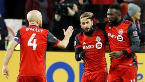 Toronto FC to host MLS final after 1-0 win over Columbus in eastern final