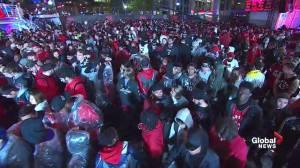Dejected fans leave Jurassic Park after Toronto Raptors Game 5 loss