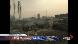 Fort McMurray wildfire: No one hurt amid evacuation, but hundreds of homes lost