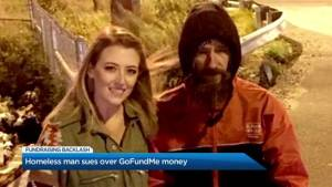 A Homeless good Samaritan is suing over a GoFundMe campaign