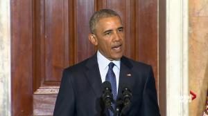 President Obama outlines current state of US military action against ISIS