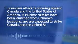 Prankster broadcasts nuclear alert message in Winnipeg