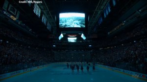 Maple Leafs hold moment of silence to honour victims of the tragic van attack