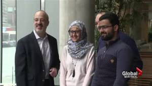 Concordia-sponsored Syrian refugees settle down
