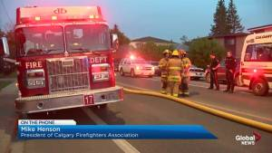 Calgary Firefighters Association anticipates $9-million in budget cuts