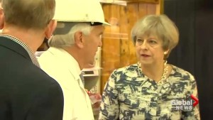 British PM booed by butchers on campaign stop