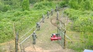 North, South Korea begin to remove landmines along border