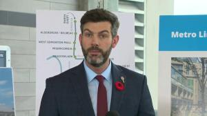 'Historic day': Provincial funding for west Edmonton LRT extension secured
