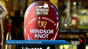 New beer celebrates upcoming royal wedding