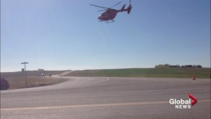 STARS transports man from collision at Highway 22 and Big Hill Springs Road