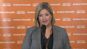 Andrea Horwath says her plan is more 'fiscally-responsible' than Doug Ford's