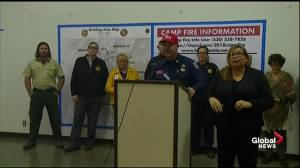 3 firefighters injured battling California's Camp wildfire